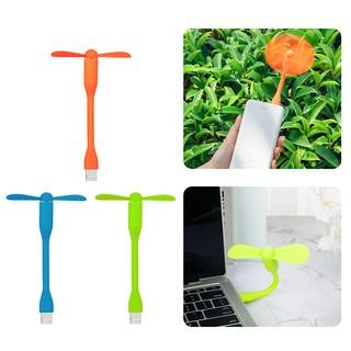 KIVEE Detachable Bendable USB Fan Cooler For Notebook PC Computer Laptop Power Bank