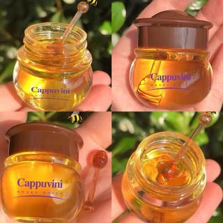 Mặt nạ môi mật ong CAPPUVINI mềm môi làm hồng môi Moisturize And Repair Lip Film CAPU03