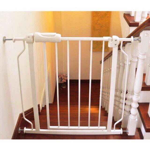 Thanh chặn cửa, chặn cầu thang tự động (cao 79cm, rộng 76->85cm)