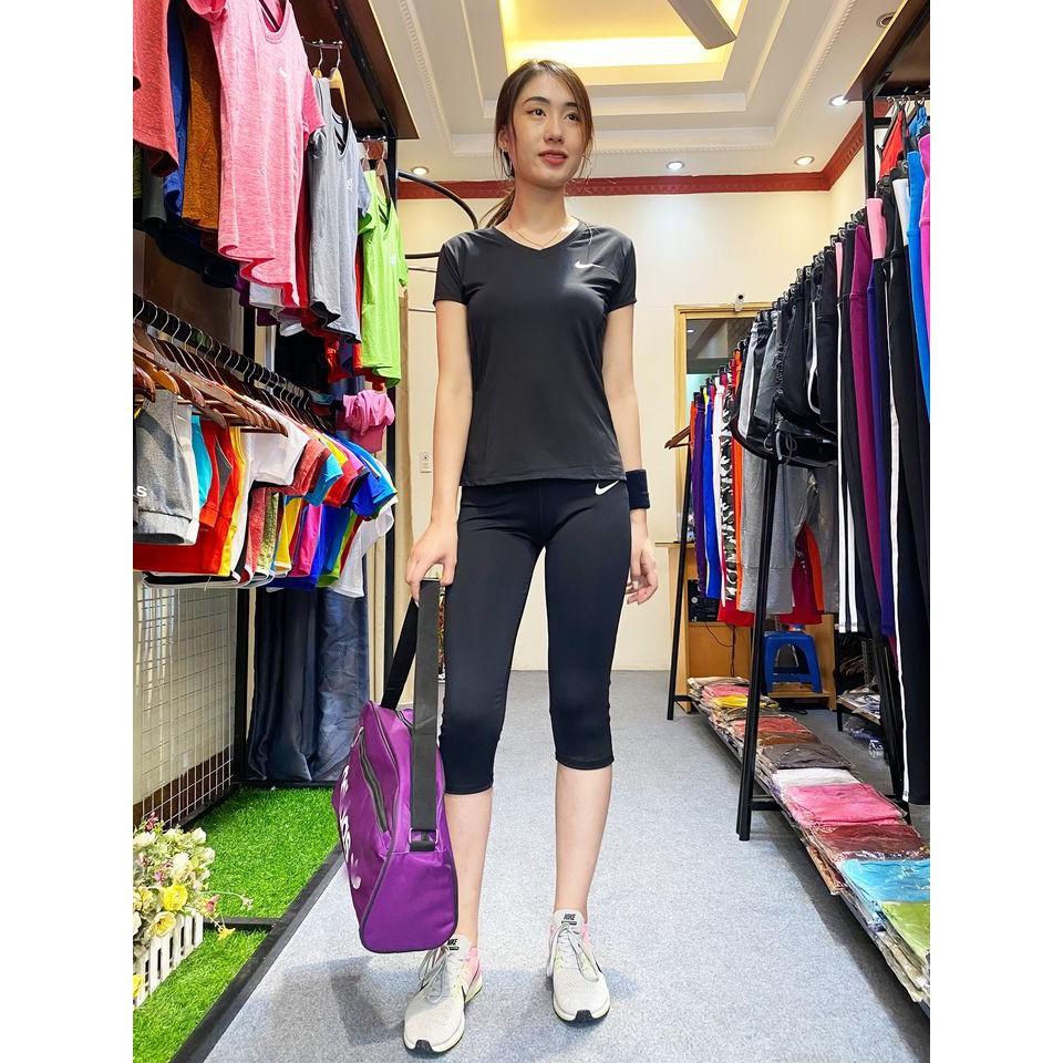 Chỗ mua bán set quần áo thể thao thể dục thẩm mỹ đồ tập gym yoga cho nữ người mập ở tại hà nội