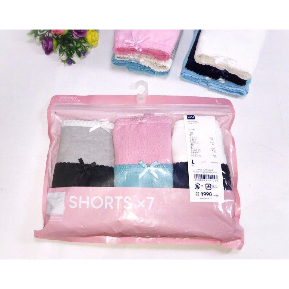 Set 7c quần lót gu xuất Nhật siêu chất
