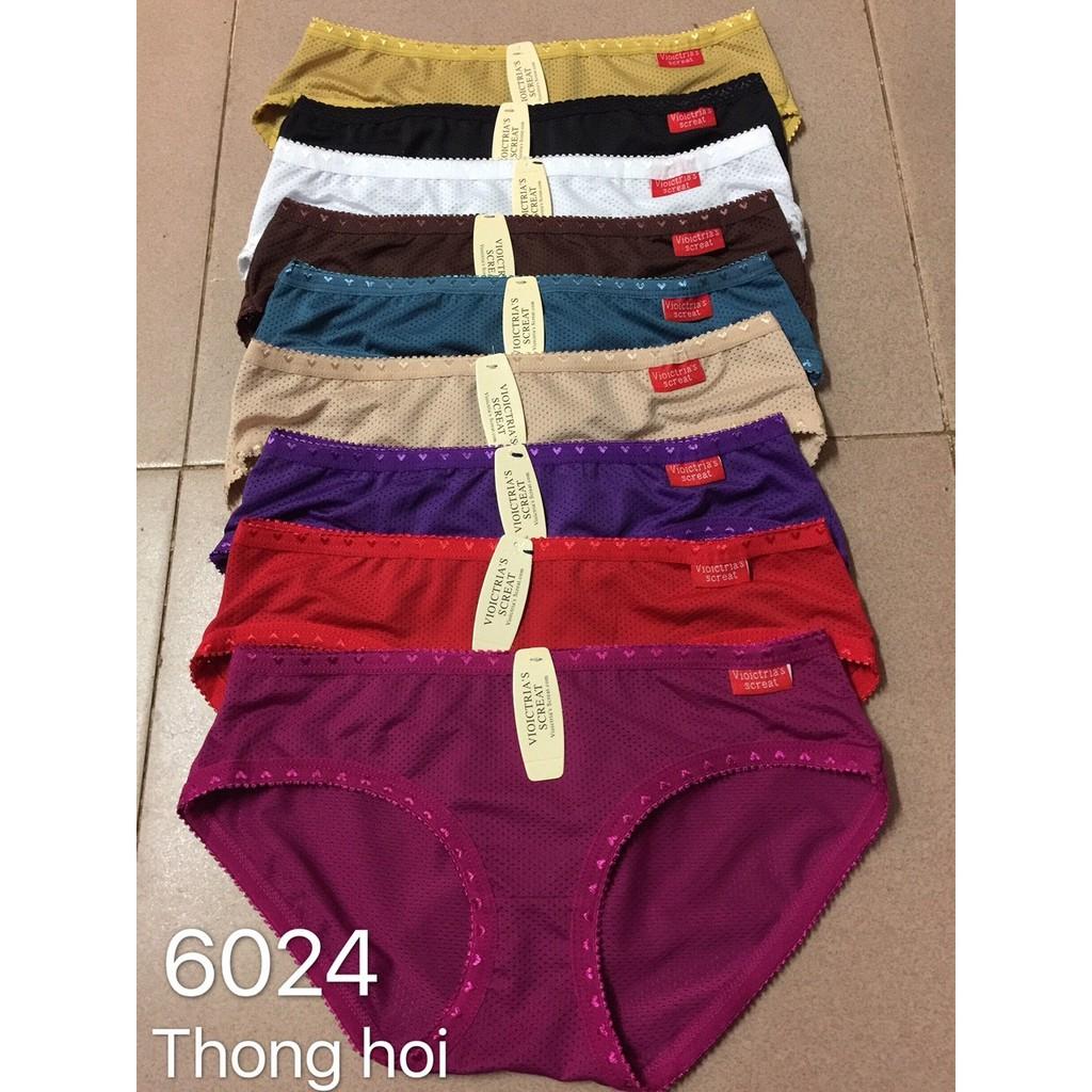 Combo 10 quần lót Thông hơi cotton loại đẹp