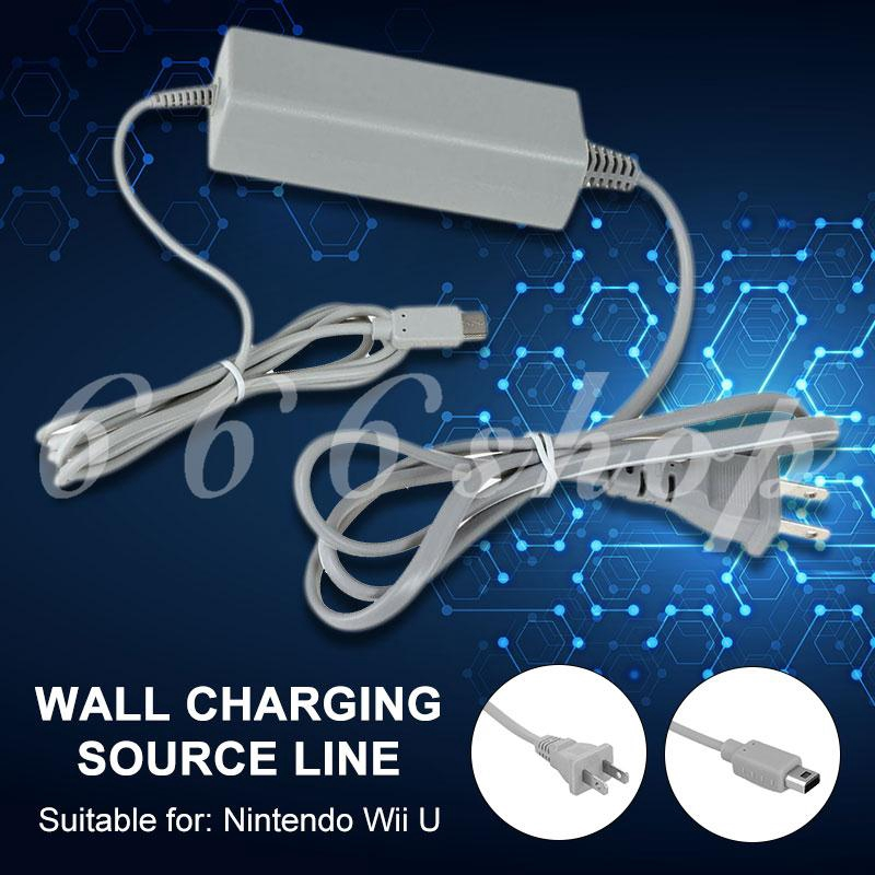 ★★★ Nintendo Wii U GamePad PVC Charging Docks Chargers AC Power Adapter Wall Charger US