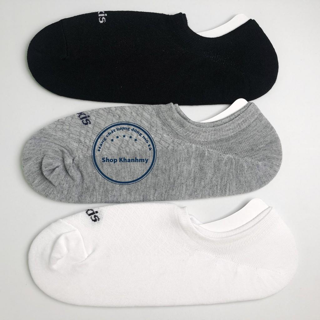 Tất vớ Nam lười trơn Cao cấp kết hợp giày lười - tất mắt cá Cotton chuẩn xuất khẩu VL01