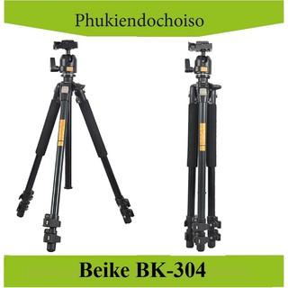 [Mã 159ELSALE hoàn 7% đơn 300K] Chân máy ảnh BEIKE BK-304 (China) . Tặng Da cừu - Da thật thumbnail