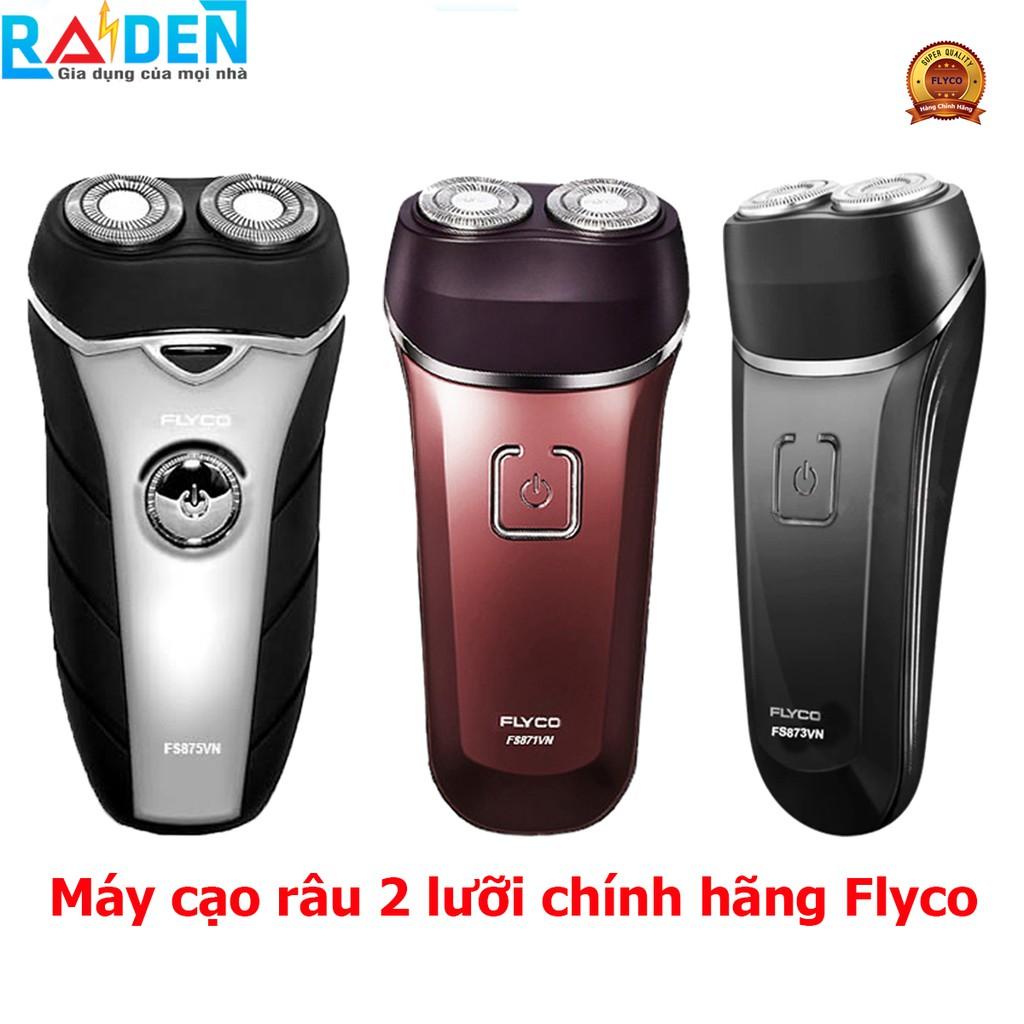 Máy cạo râu điện 2 lưỡi Flyco FS871VN / FS873VN / FS875VN