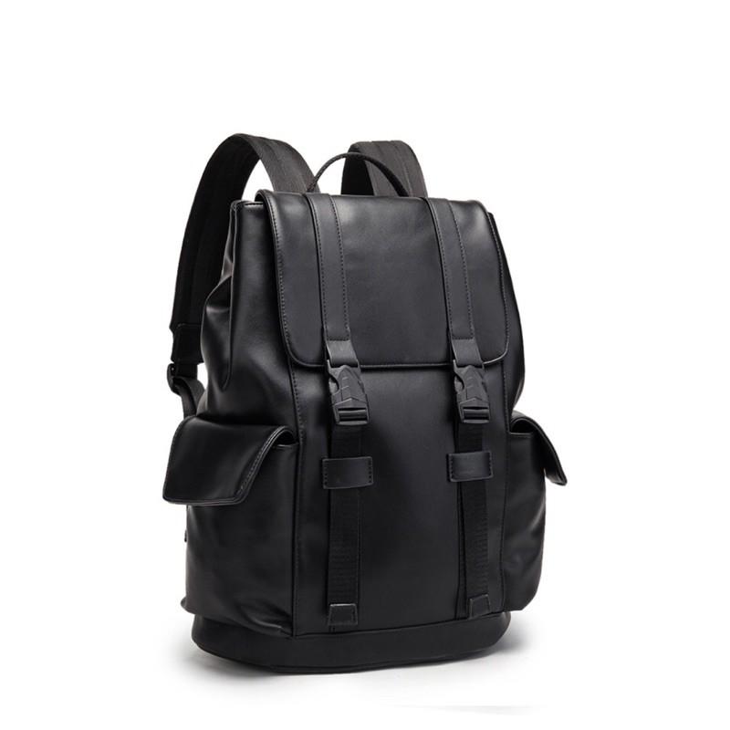 Balo Da - Black PU BackPack
