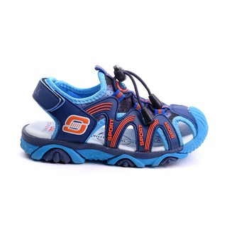 [Mã KIDMALL15 hoàn 15% xu đơn 150K] Giày sandal bít mũi Crown UK Space CRUK803 xuất xịn cho bé trai từ 3 - 10 tuổi