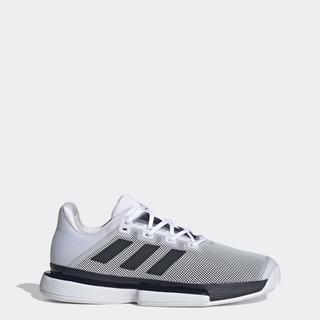 Giày adidas TENNIS sân cứng SoleMatch Bounce Nam Màu trắng FU8118 thumbnail