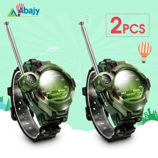 2Pcs 7 in 1 Kids Children Toys Girls Boys Watches Interphone Outdoor Games Toys 26*4*6cm