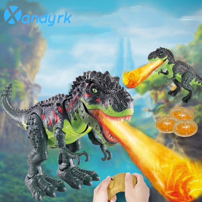 Dinosaur Simulation Model Toy With Light And Toy Control Remote Electric Children Wireless