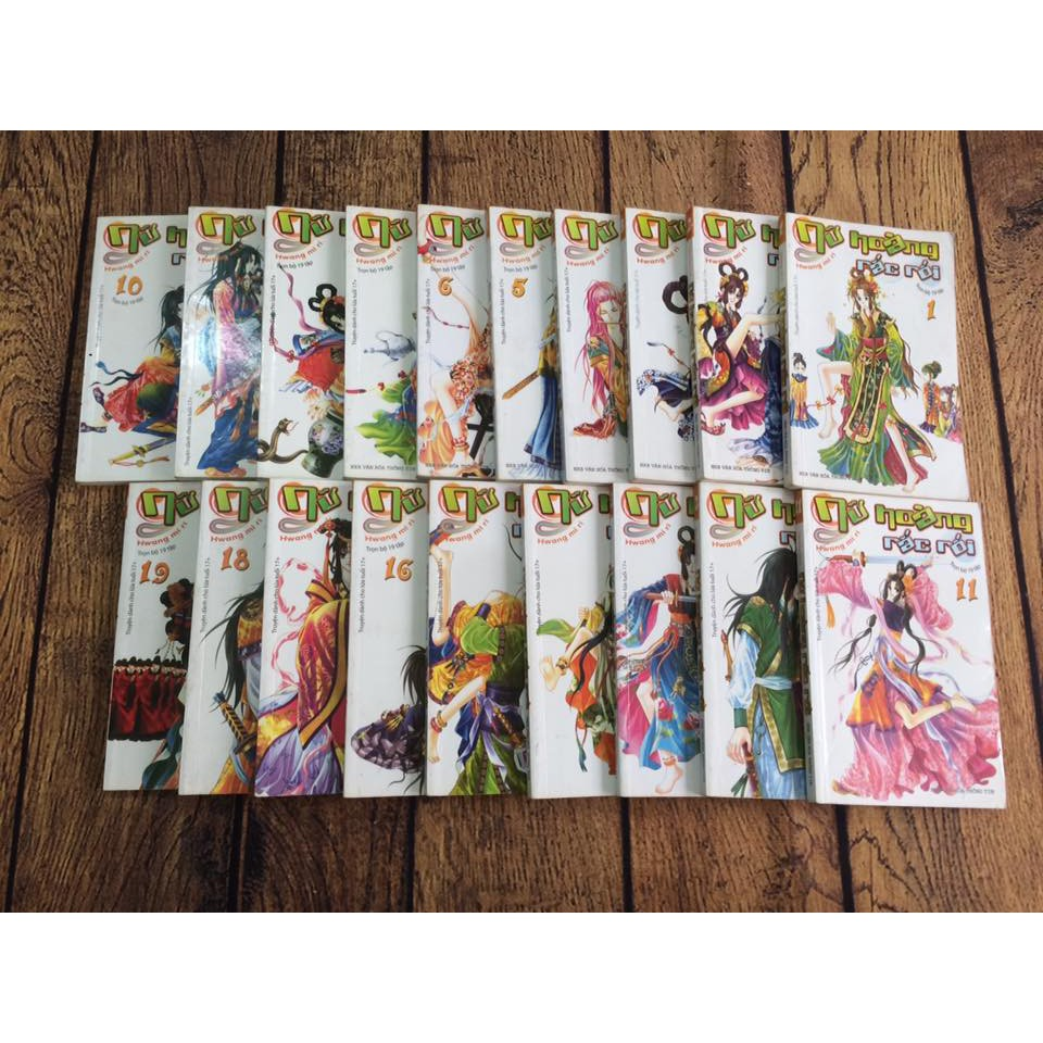 Truyện tranh Nữ hoàng rắc rối Hwang Mi Ri - 2596581 , 617406875 , 322_617406875 , 95000 , Truyen-tranh-Nu-hoang-rac-roi-Hwang-Mi-Ri-322_617406875 , shopee.vn , Truyện tranh Nữ hoàng rắc rối Hwang Mi Ri