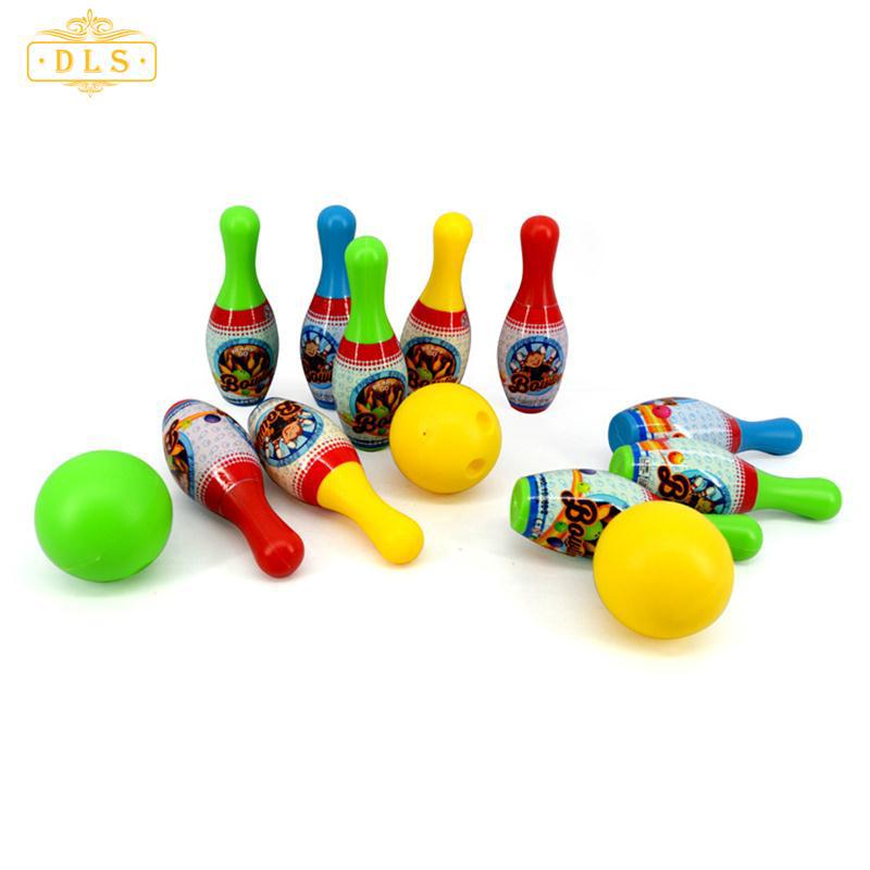 Mini Portable Miniature Bowling Set Toy Home Gift For Funny Kids Children