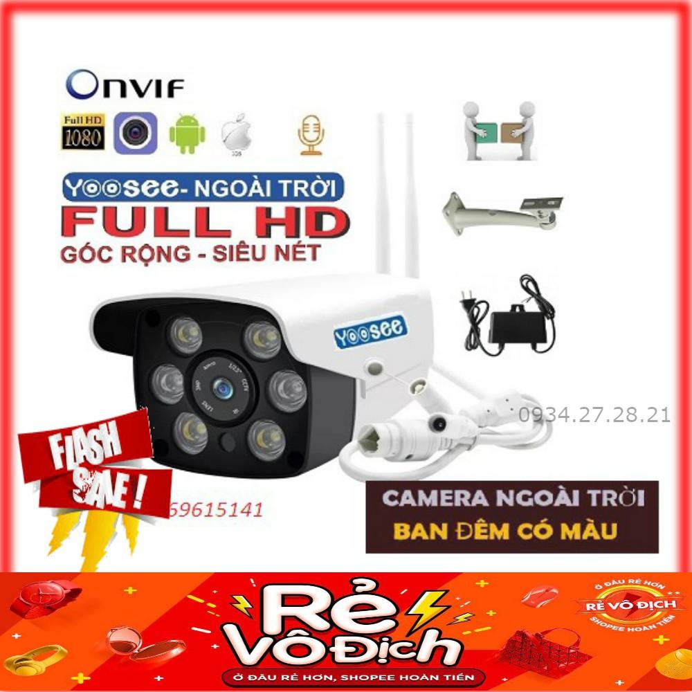 Camera WIFI lắp ngoài trời FUll HD 1080P-Tích hợp đèn led chiếu sáng BCR90S7B