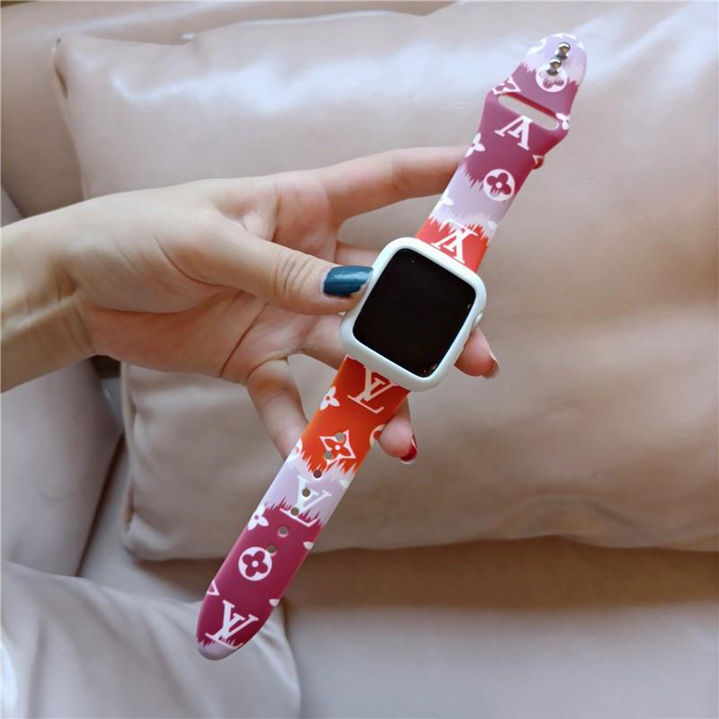 Dây Đồng Hồ Thông Minh Apple Watch Series 6 Se 5 4 3 2 1 Iwatch38Mm 40mm 42mm 44mm T500 F10 F20 F8 Ft50 Ft30 T55 W26 W46 U78Puls