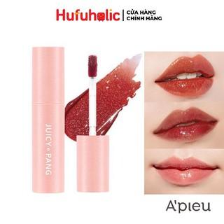 APIEU Son Tint bóng lâu trôi Juicy-pang Sparkling Tint mềm môi căng mọng thumbnail