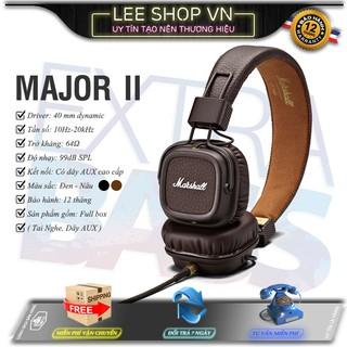 Tai Nghe Marshall Major 2 Lee Shop VN - Kèm Quà Tặng Hấp Dẫn - Nghe Nhạc Cách Âm Siêu Đỉnh - Đẳng Cấp Âm Thanh