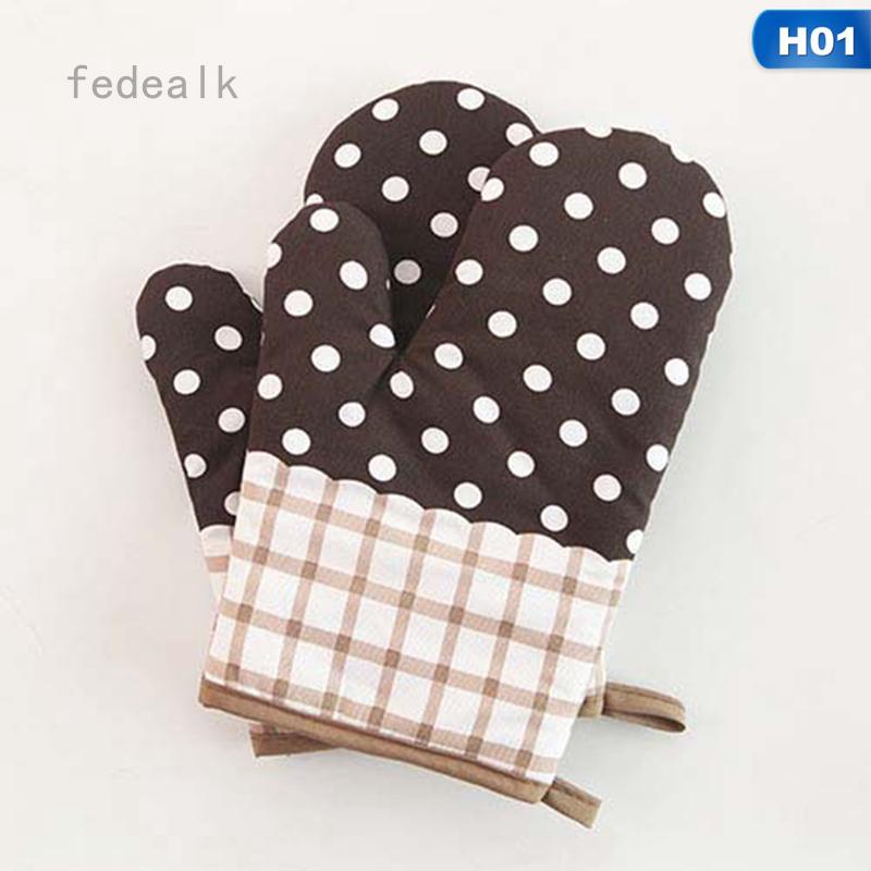 fedealk Găng tay cách nhiệt sử dụng với lò nướng tiện dụng sáng tạo
