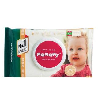 Combo 10 khăn ướt cao cấp mamamy 100 tờ