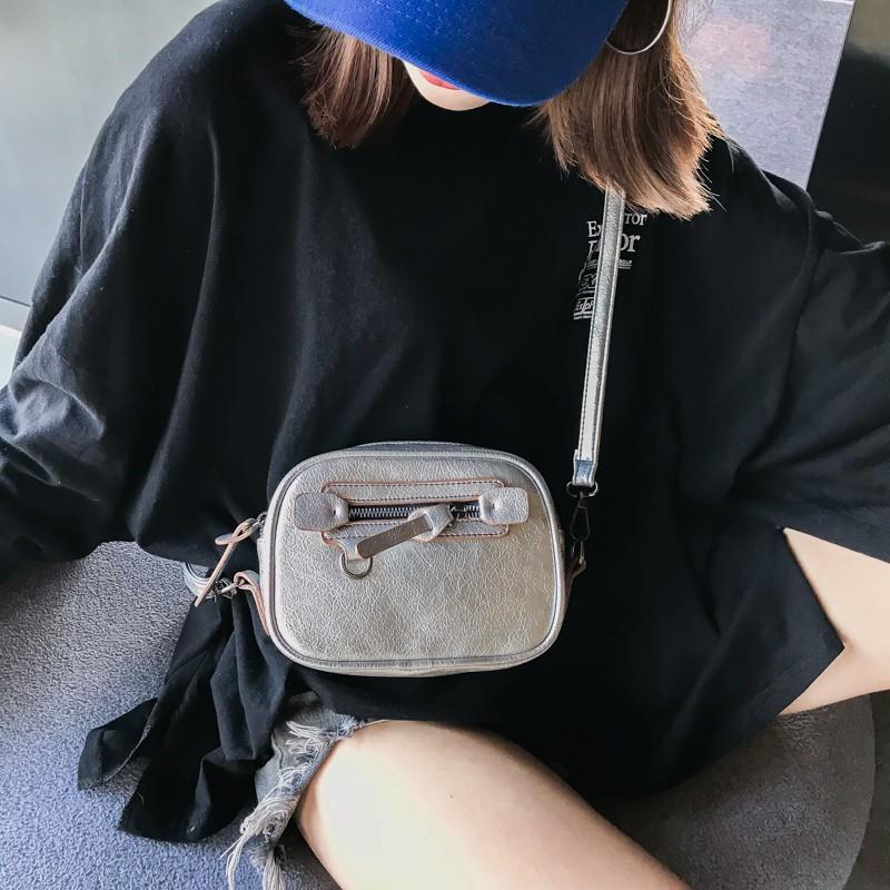 Túi đeo chéo nữ da mềm kiểu ngang sang trọng - TXN87 (kèm video ảnh thật)