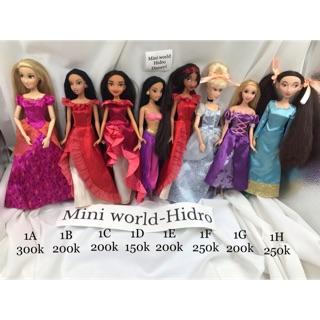 Búp bê công chúa Disney chính hãng. Búp bê Disney khớp. Mã Disney1 thumbnail