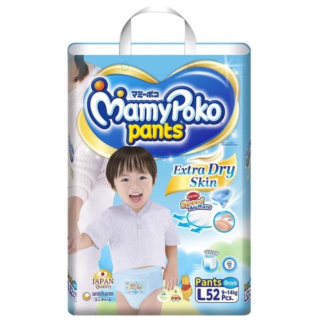 Tã quần MamyPoko L52 (Boys)