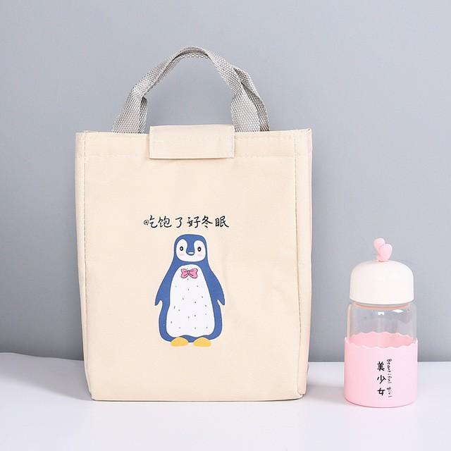Túi giữ nhiệt đựng hộp cơm giữ nhiệt cao cấp