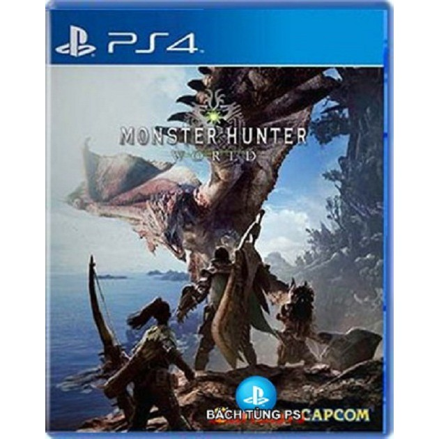 Đĩa Game Ps4:Monster Hunter World Ps4 hệ Asian