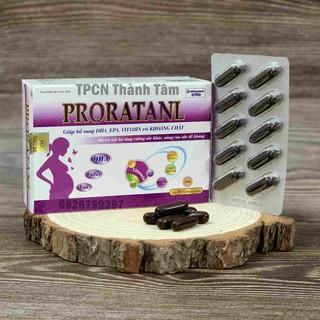 Viên uống cho mẹ bầu PRONATANL giúp bổ sung DHA, EPA, VITAMIN và KHOÁNG CHẤT cho mẹ bầu - Hộp 30 viên thumbnail