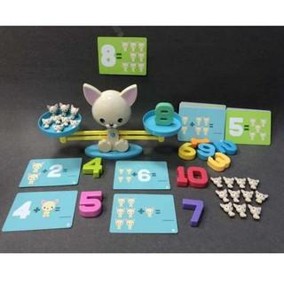 đồ chơi cân bằng toán học vui nhộn cho bé trai và bé gái
