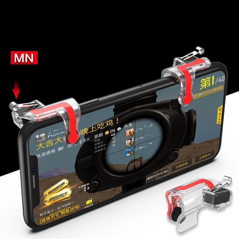 Bộ 2 Nút Bấm Chơi Pubg Mobile MN - Nút Cơ Dễ Dàng Cài Đặt Sử Dụng