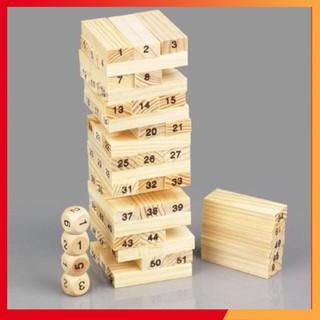 Nhanh nào:> ✪ ĐỒ CHƠI Bộ trò chơi rút gỗ 54 thanh ✫