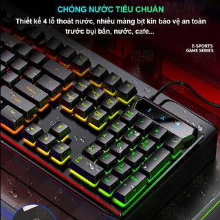 Hình ảnh Bàn Phím Máy Tính Gaming RGB SIDOTECH YINDIAO V4 Có Dây / Đèn LED RGB Chống Nước Chơi Game Máy Tính Esport - Chính Hãng-2