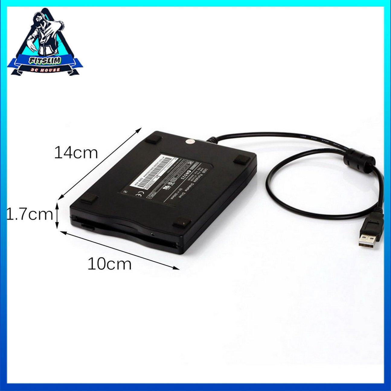 """1.44Mb 3.5 """"USB Ổ đĩa mềm di động gắn ngoài FDD cho máy tính xách tay"""