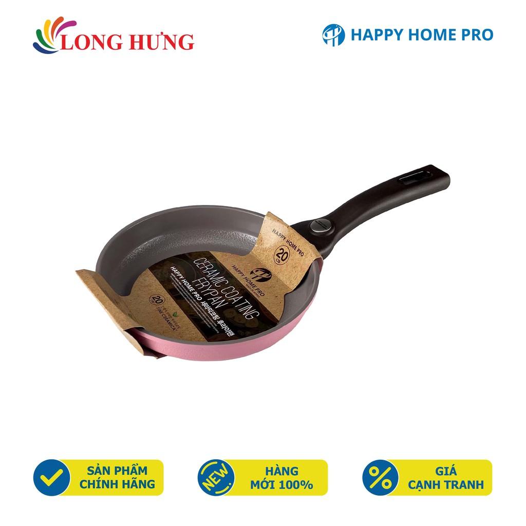Chảo chiên chống dính nhôm tráng sứ Galaxy Happy Home Pro - Hàng chính hãng