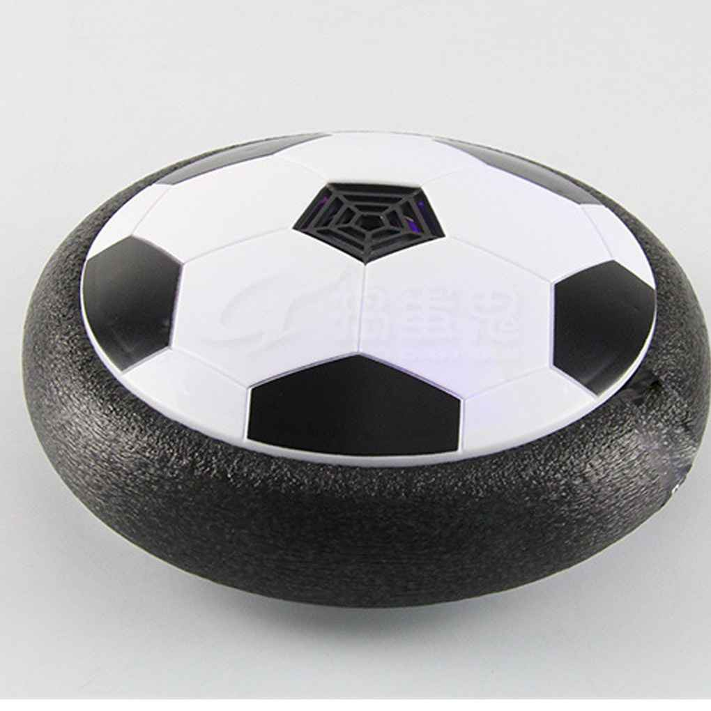 LED Light Flashing Ball Toys Air Power Soccer Balls Multi-surface Hovering_FF86