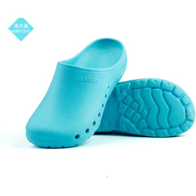 Giày phẫu thuật - dép phòng khám nam và nữ- giày y tá-  dép chống trượt- dép đi trong nhà- dép đi trong nhà máy