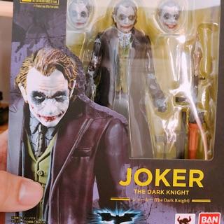 Mô hình động Bandai SHF Joker The Dark Knight