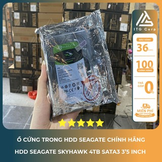 Ổ cứng HDD Seagate SkyHawk 4TB 3.5 inch 5900RPM, SATA3 6GB/s, 64MB Cache, ST4000VX007