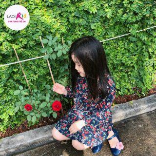 Đầm Cherry quảng châu cao cấp