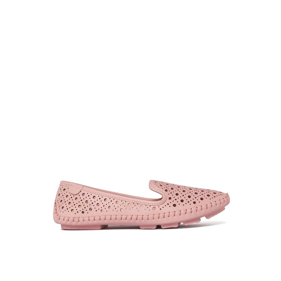 Giày Nữ Búp Bê Da MicroFiber Siêu Nhẹ Tomoyo TMW21408
