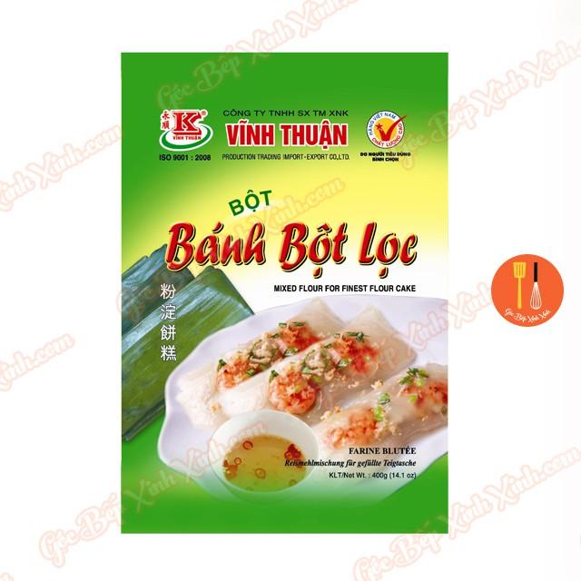 Bột bánh bột lọc Vĩnh Thuận 400g - 2699417 , 1248742468 , 322_1248742468 , 16000 , Bot-banh-bot-loc-Vinh-Thuan-400g-322_1248742468 , shopee.vn , Bột bánh bột lọc Vĩnh Thuận 400g