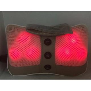 Gối massage hồng ngoại 6 bi xoay thumbnail