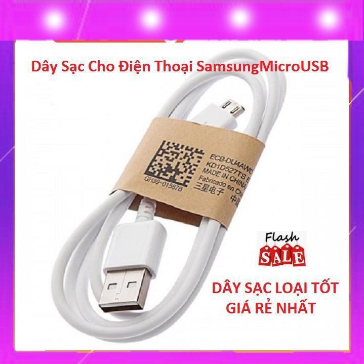 Dây Sạc Cho Điện Thoại Samsung MicroUSB Chính Hãng