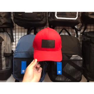 Nón adidas Y3 đỏ logo da – Bảo hành
