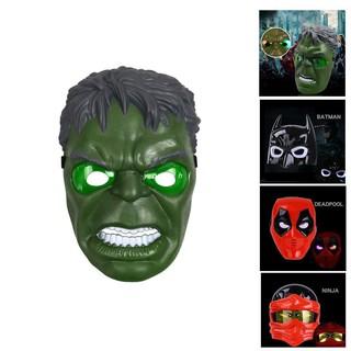 Mặt nạ ánh sáng Halloween Hulk Batman Ninja Đồ chơi