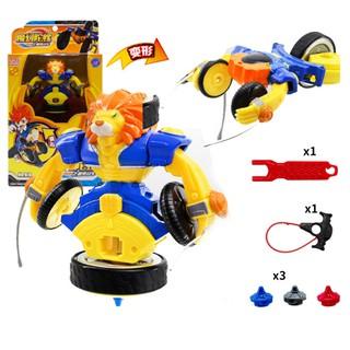 Đồ chơi con quay võ thần giáp sĩ đồ chơi trẻ em mô hình nhân vật Sư tử bá vương