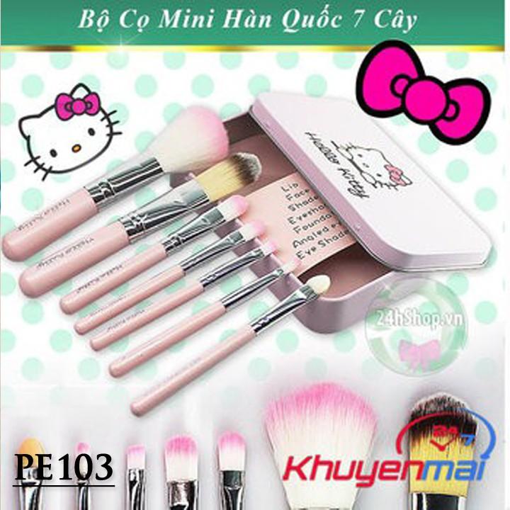 Bộ Cọ Trang Điểm 7 Cây Hello Kitty - 2548624 , 138667288 , 322_138667288 , 56000 , Bo-Co-Trang-Diem-7-Cay-Hello-Kitty-322_138667288 , shopee.vn , Bộ Cọ Trang Điểm 7 Cây Hello Kitty