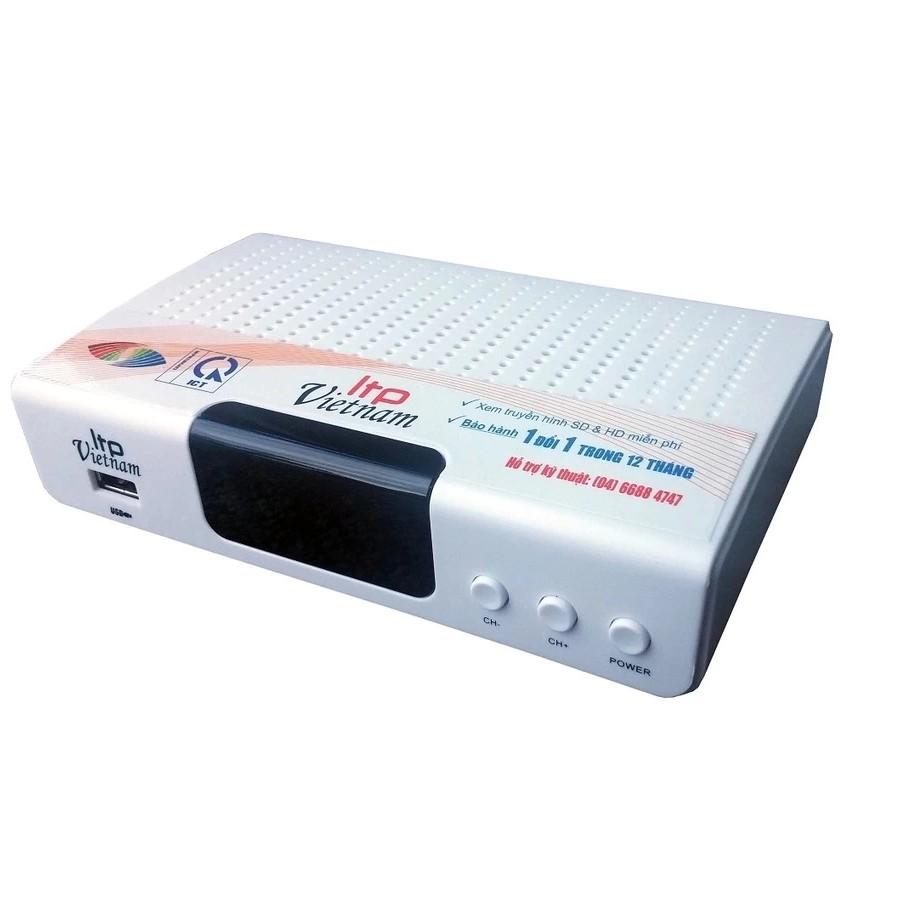 Đầu thu kỹ thuật số DVB-T2 STB-1506 (Trắng)