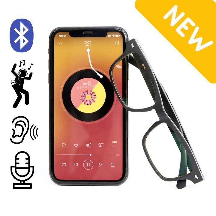 [VIP] Mắt Kính Thể Thao Chống Ánh Sáng Xanh Kết Hợp Bluetooth Nghe Nhạc, Nhận Cuộc Gọi Đàm Thoại và Chống Nước Cực Chất